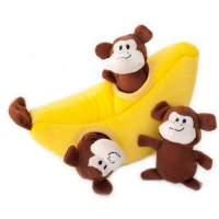 ZippyPaws Zippy Burrow Monkey and Banana